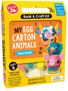 Egg Carton Animals JR