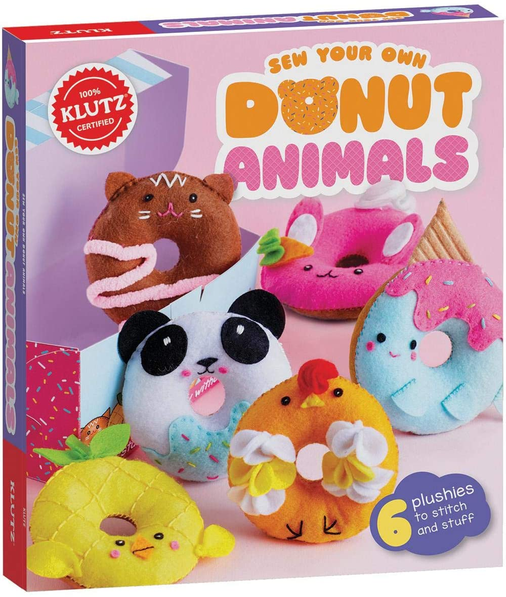 Sew Your Own Donut Animals Sewing & Craft Kit