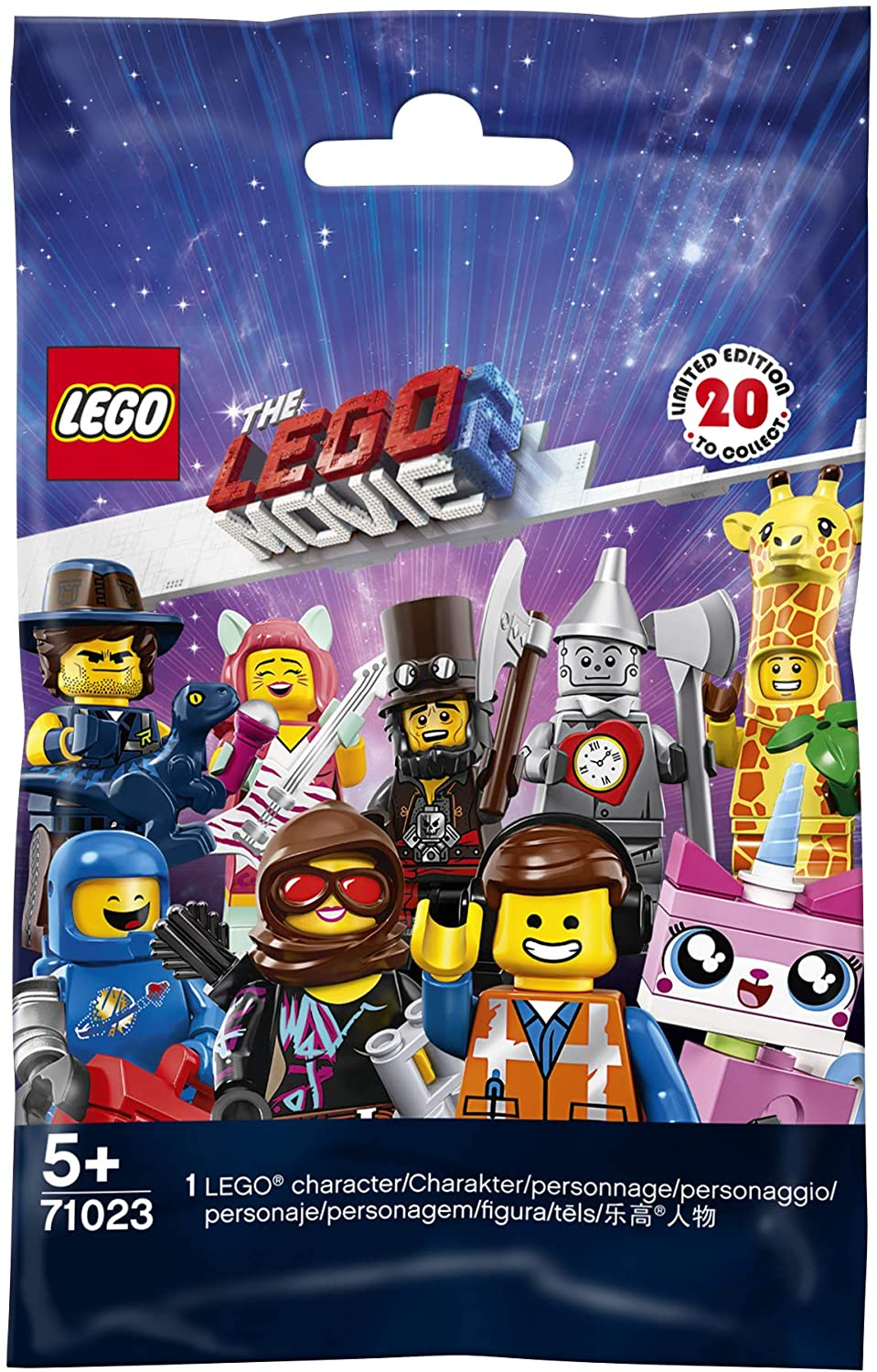 LEGO Minifigures The LEGO Movie 2 Mystery Pack
