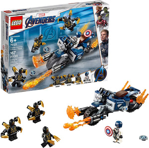 Lego Avengers Captain America Outriders Attack