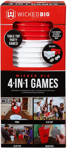 Wicked Big Sports 4 in 1 Party Games