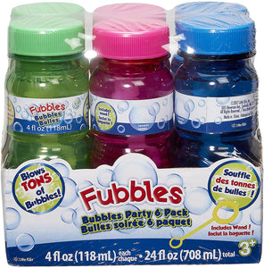 Fubbles Bubbles 6 pack