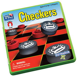 Magnetic Travel Checkers