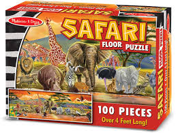 Safari 100 Piece Puzzle