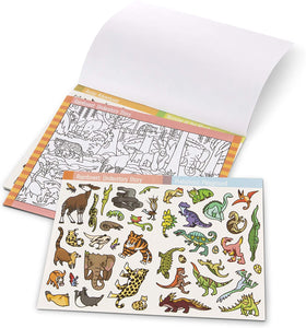Seek & Find Sticker Pad-Animals