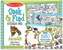 Load image into Gallery viewer, Seek & Find Sticker Pad-Animals