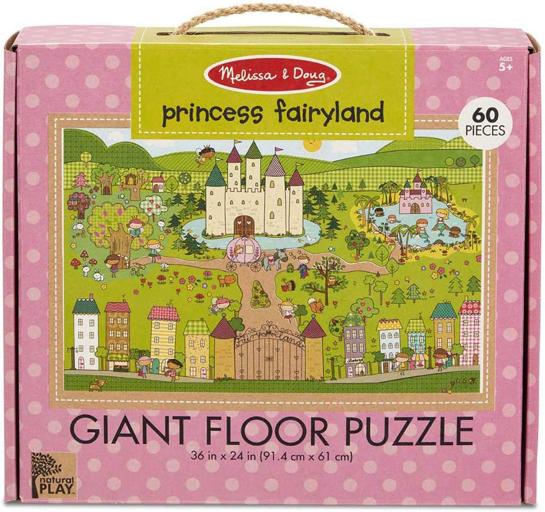 Princess Fairy Floor Puzzle