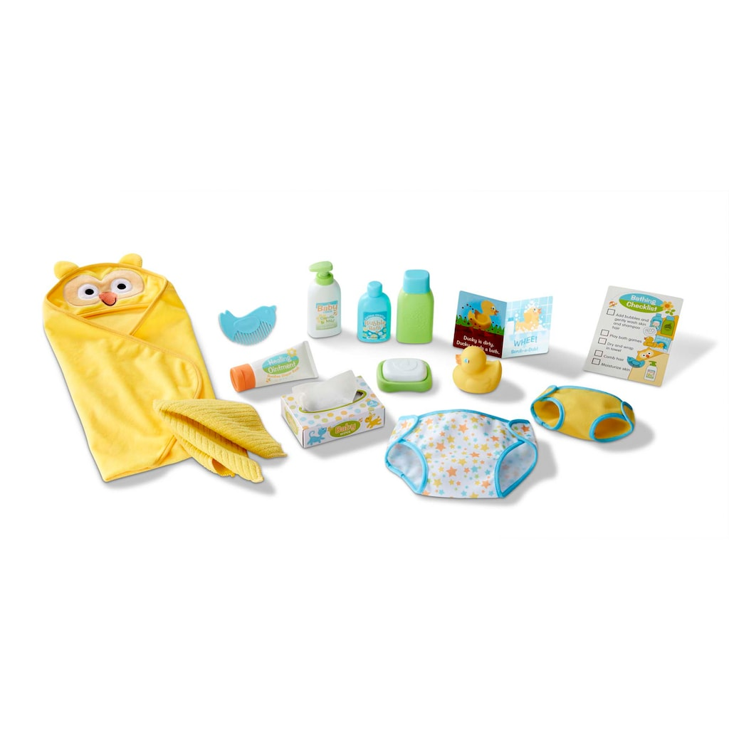 Changing & Bathtime Play Set