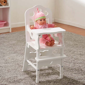 Wood Doll High Chair