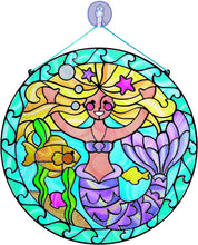 Load image into Gallery viewer, Stained Glass Mermaid