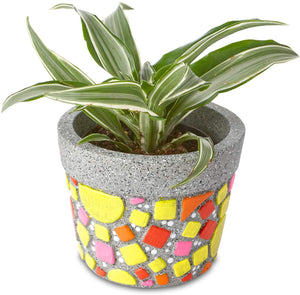 Paint Your Own Stone Flower Pot