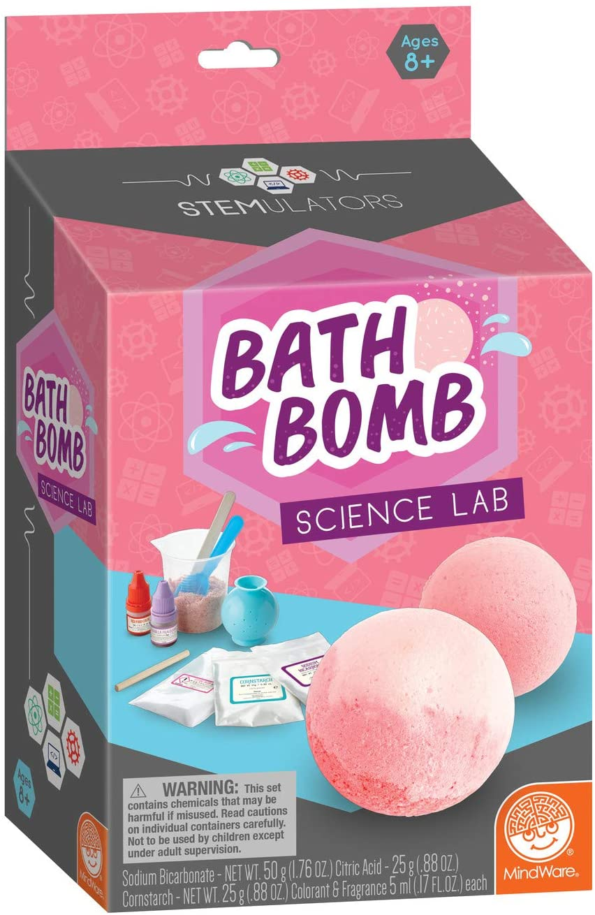 STEMulator Bath Bomb Science Project