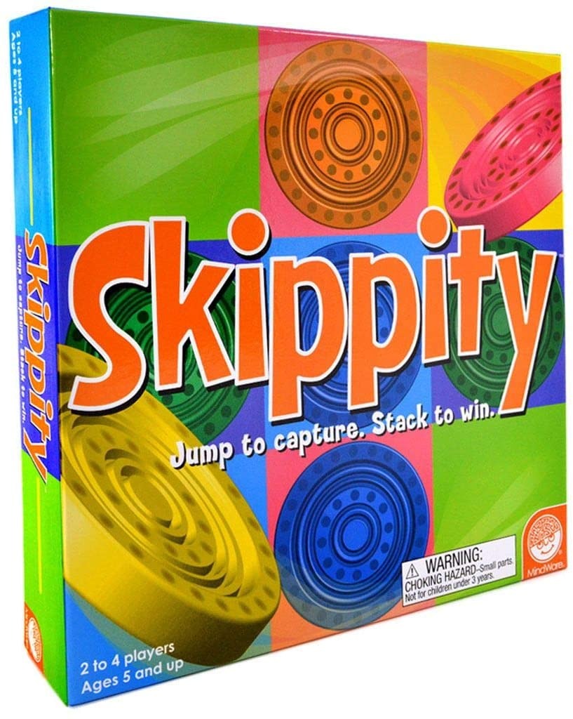 Skippity Jump and Capture Strategy Game