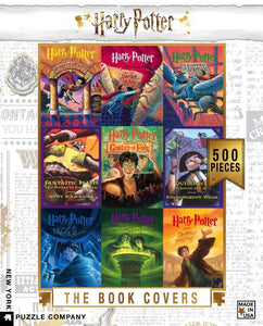 Harry Potter Book Cover puzzle 500 pc