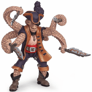 Papo Octopus Pirate Figurine
