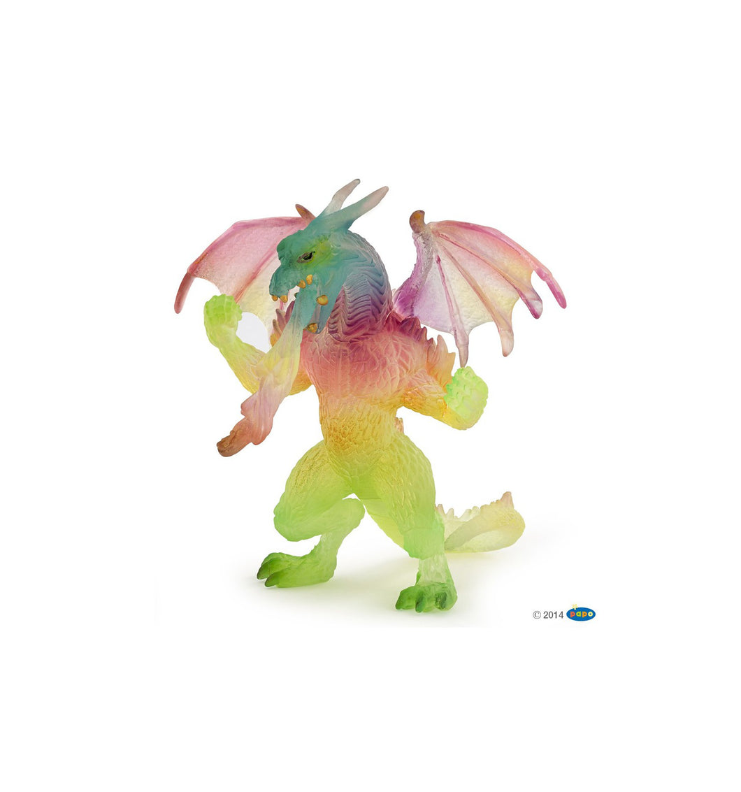 Rainbow Dragon Standing