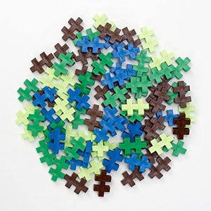 Tube Earth Interlocking Mini Blocks 70 Pieces