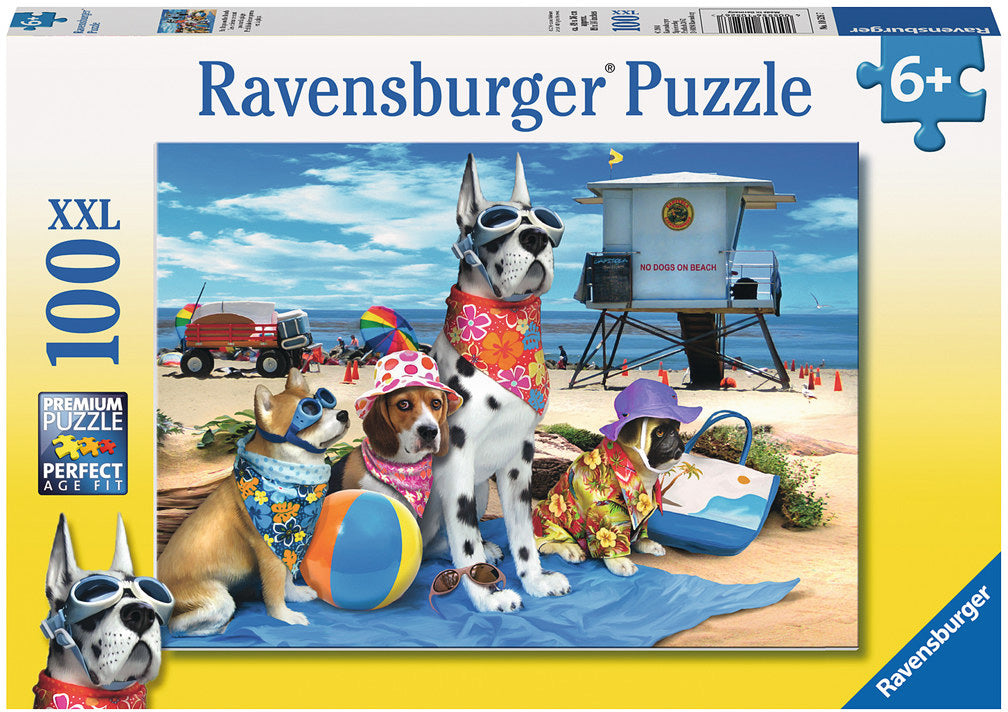 No dogs on beach puzzle 100pc