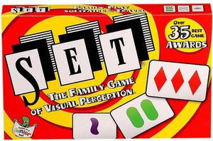 SET Family Card Game of Visual Perception