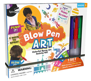 Blow Pen Art