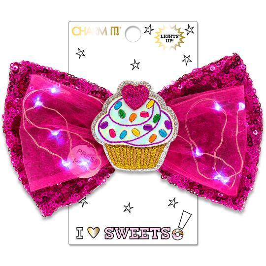 Sweets light up bow