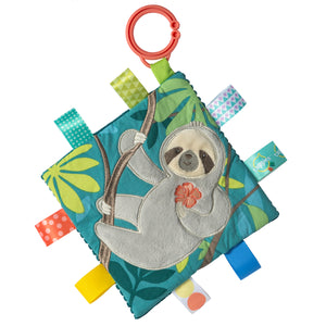 Taggie Sloth crinkle square