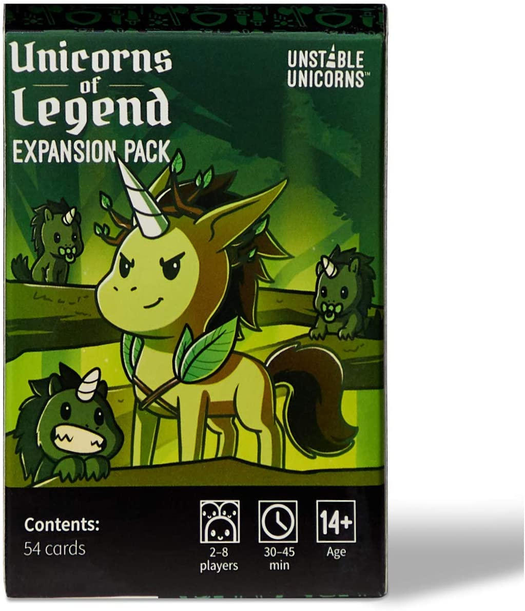 Unicorns of Legend  - Unstable Unicorns Expansion Pack