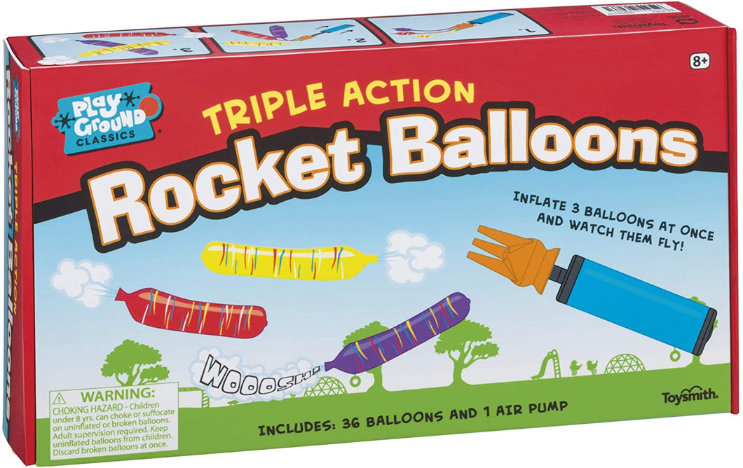 Triple Action Rocket Balloon Kit