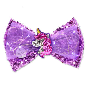 Unicorn Light up Bow