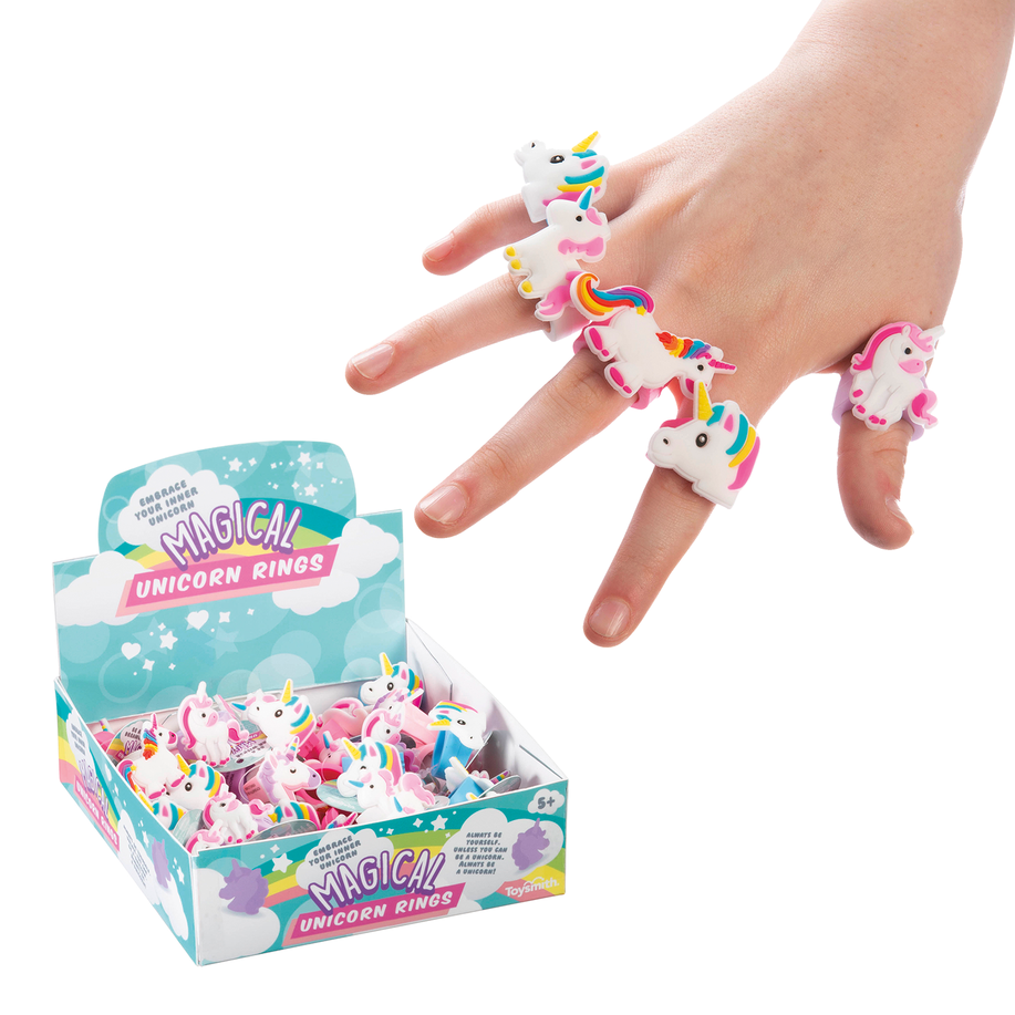 Magical Unicorn Rings