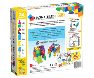 Magna Tiles House Set - 28 Pieces