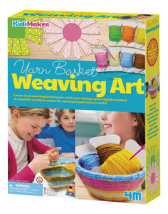 Yarn Basket Weaving Kit