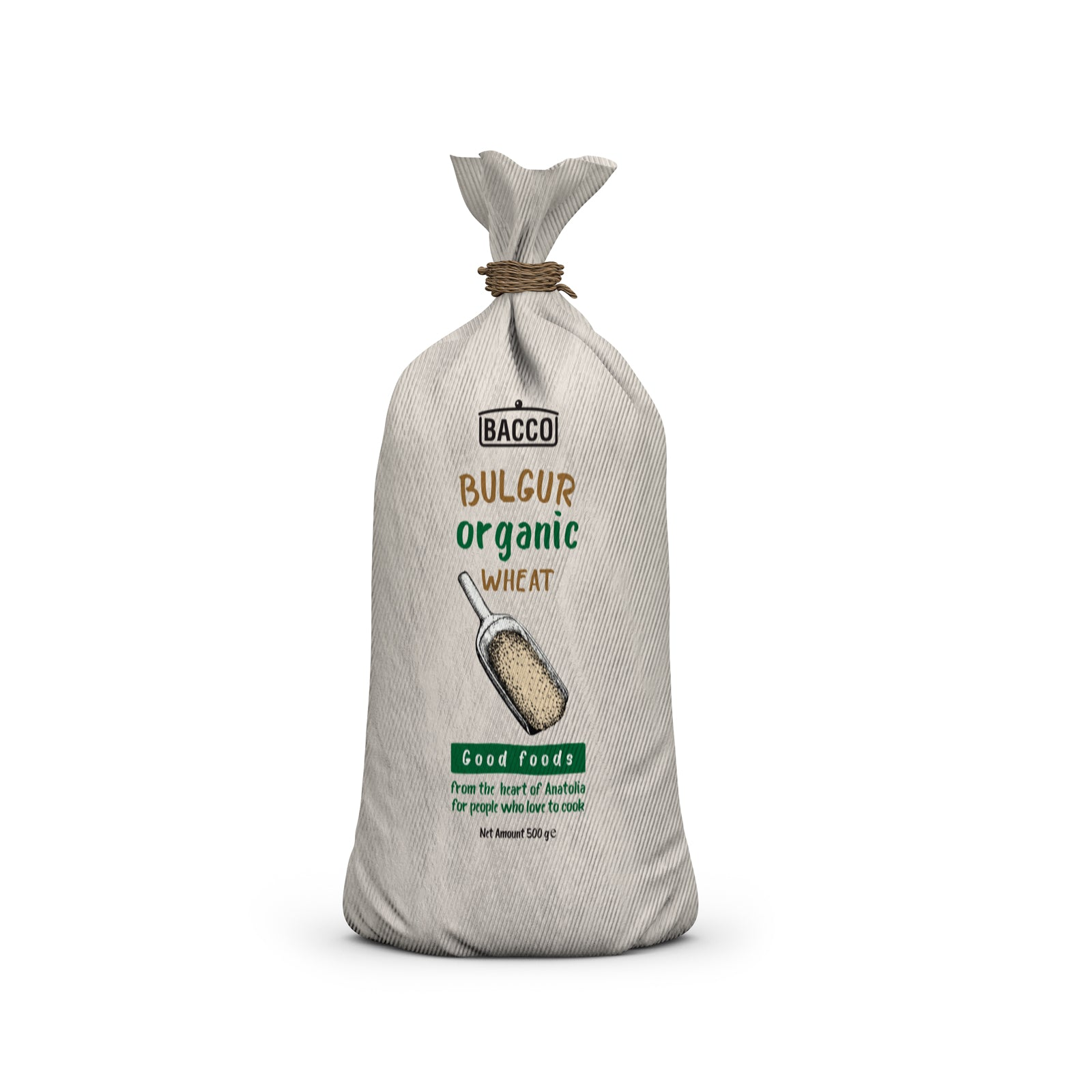 Organic Bulgur Rough 500 Gr