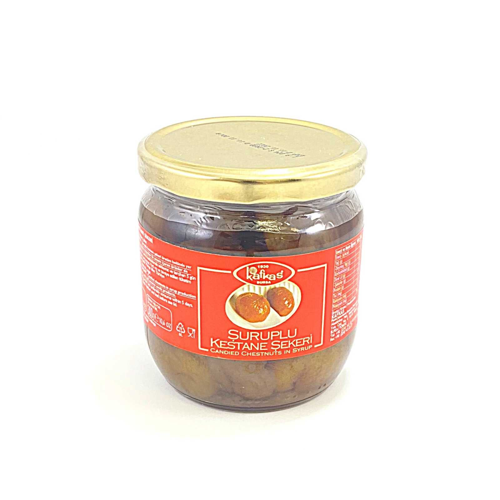 Candied Chestnut in Syrup 500 Gr