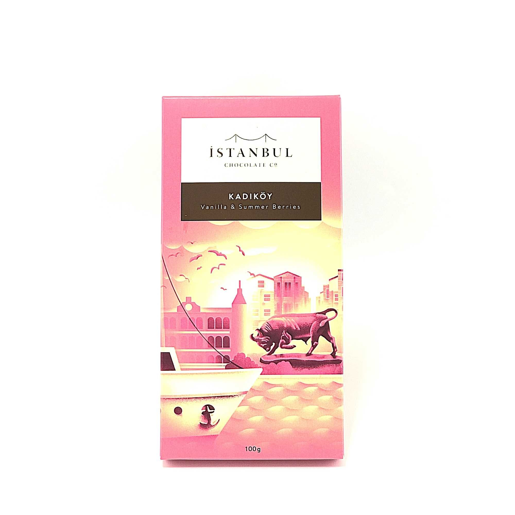 Istanbul Chocolate Kadikoy Vanilla & Summer Berries  100 Gr