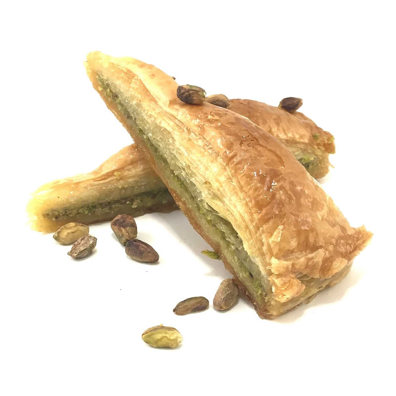 Sliced Baklava with Pistachio 100 Gr