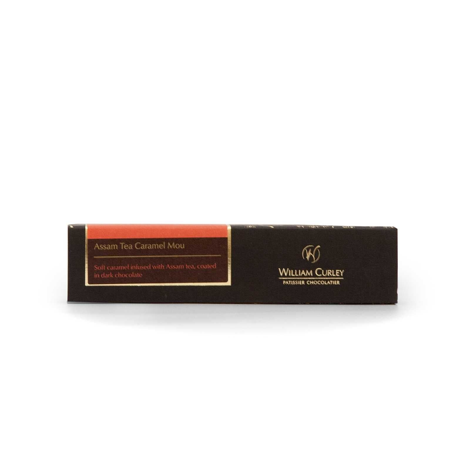 William Curley, Assam Tea Caramel Mou Snack Bar 45 Gr