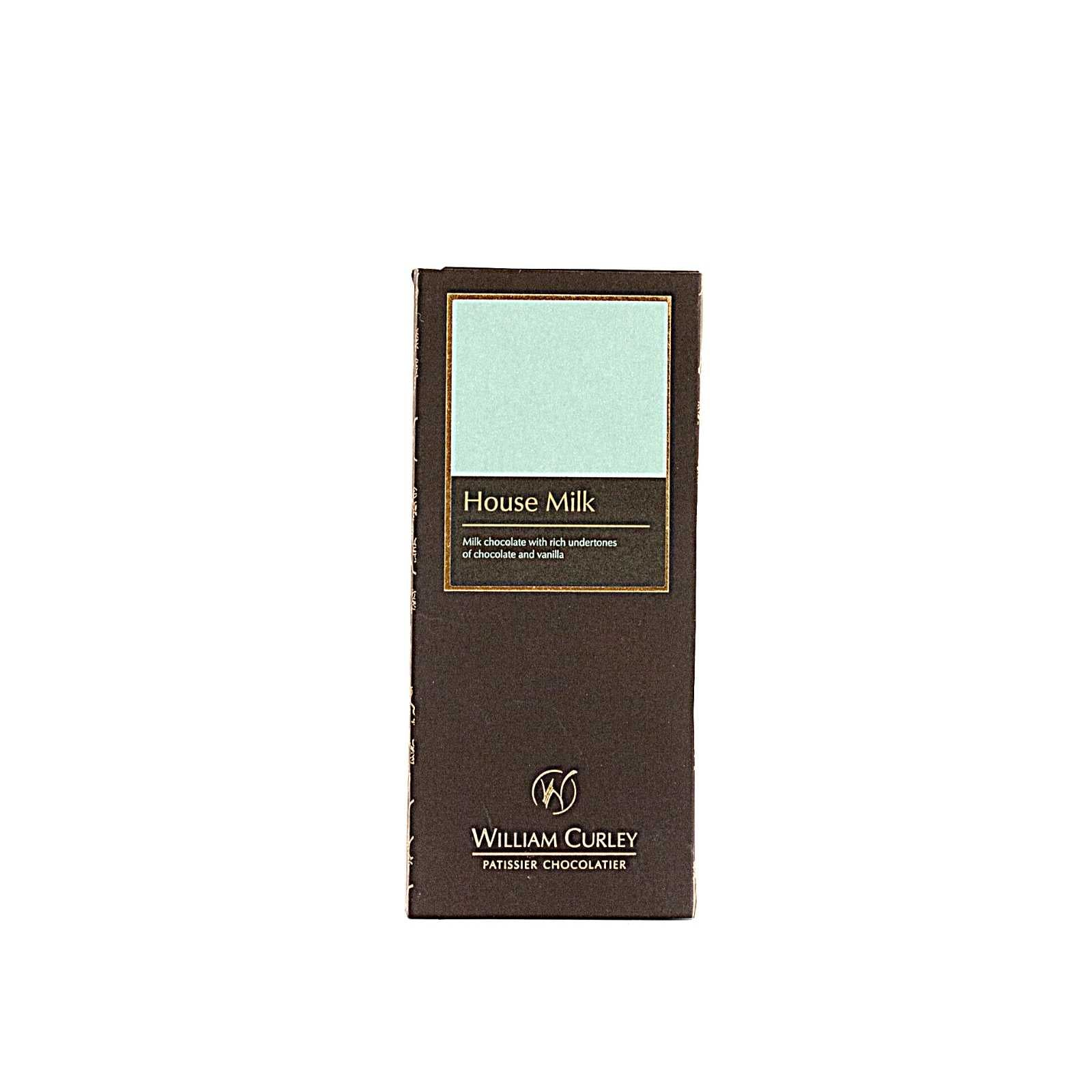 William Curley, House Milk Chocolate Bar 50 Gr