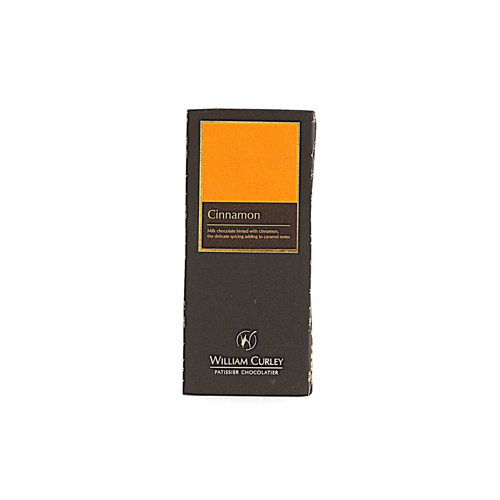 William Curley, Milk Cinnamon Chocolate Bar 50 Gr