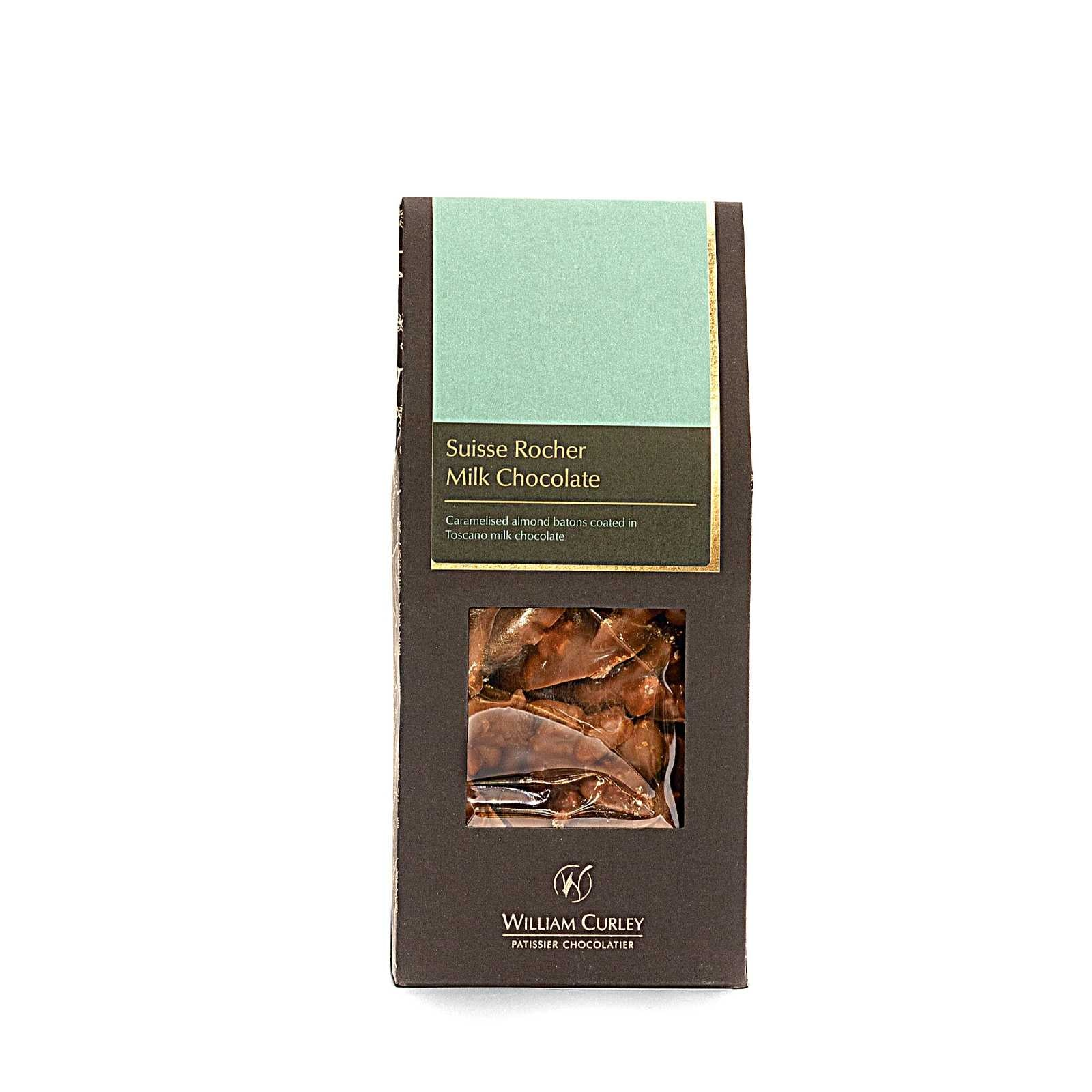 William Curley, Suisse Rocher Milk 125 Gr