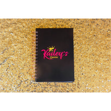 Load image into Gallery viewer, Kailey's Queen's Notebook