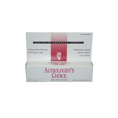 Audiologist's Choice Anti-Itch Cream