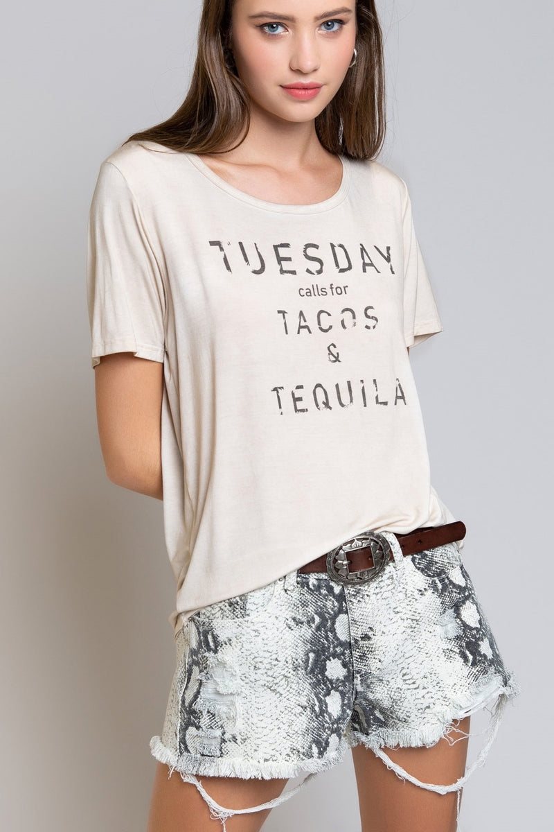 Tuesday Tacos Tequila Tee