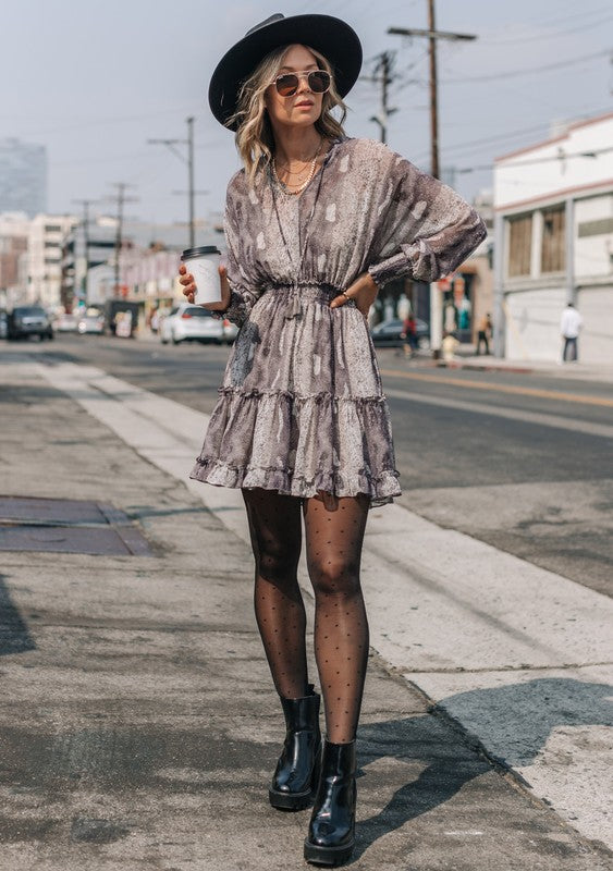 Mel Boho Mini Dress