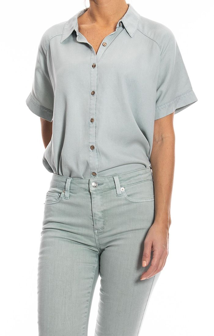 Mint Cocoon Shirt
