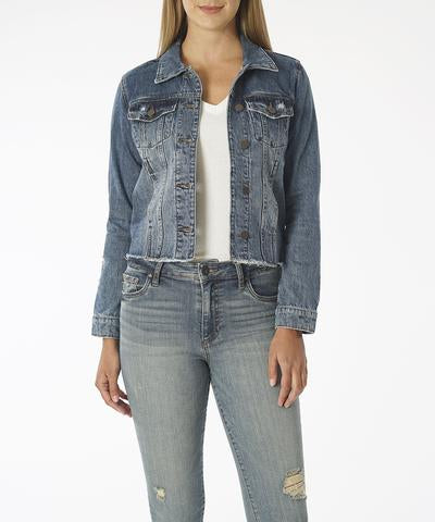 Julia Crop Denim Jacket