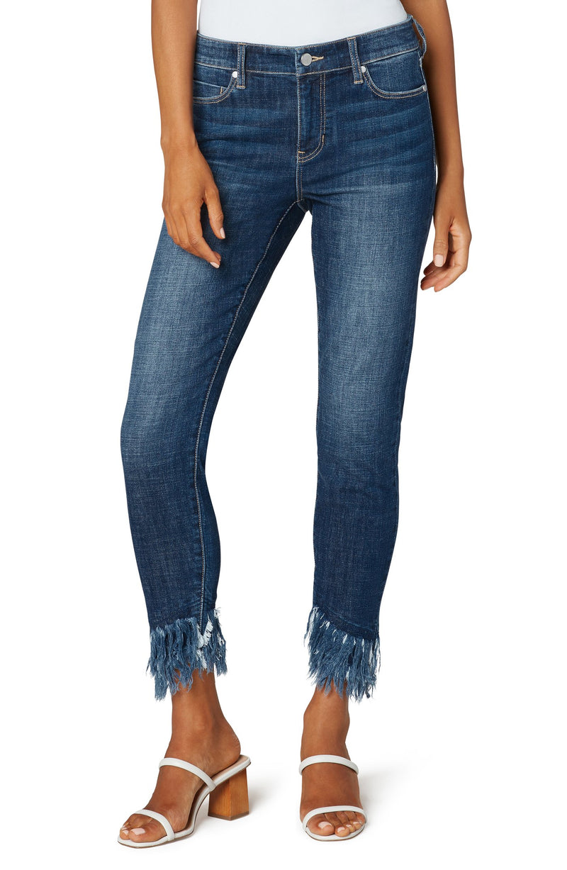 Dallas Fray Crop Skinny