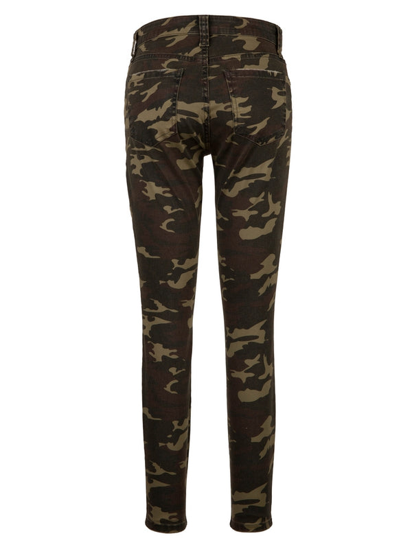 Connie Olive Ankle Skinny
