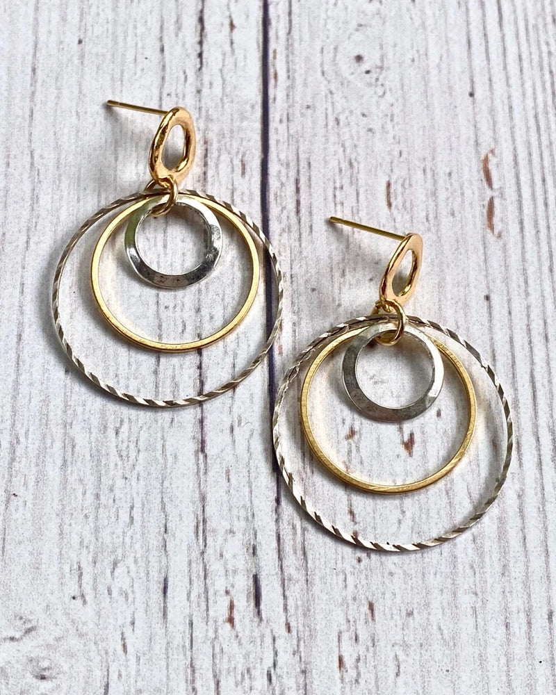 Bulls Eye Post Earrings