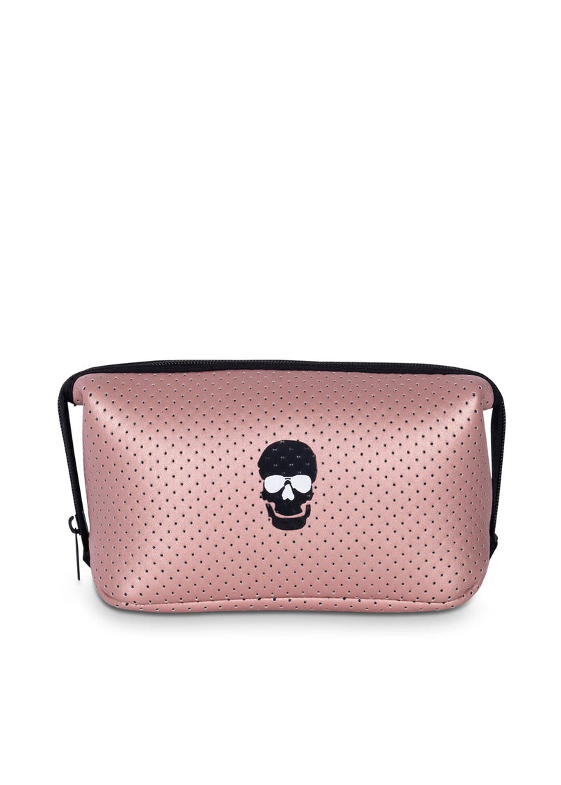 Erin Cosmetic Bag Skull